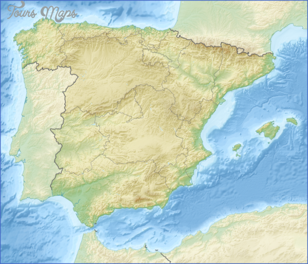 santiago de compostelan mountains map  8 Santiago de Compostelan Mountains Map