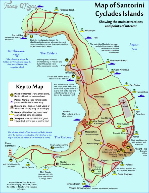 santorini map in world map 12 Santorini Map In World Map