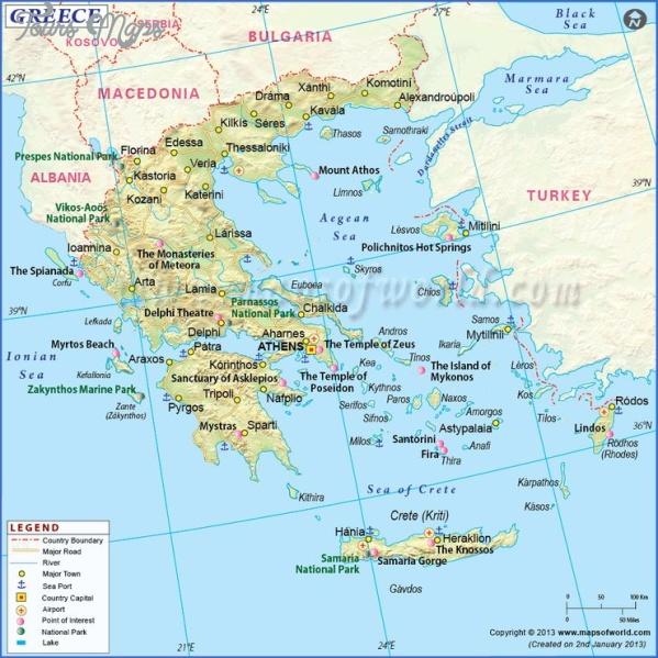 santorini map in world map 3 Santorini Map In World Map