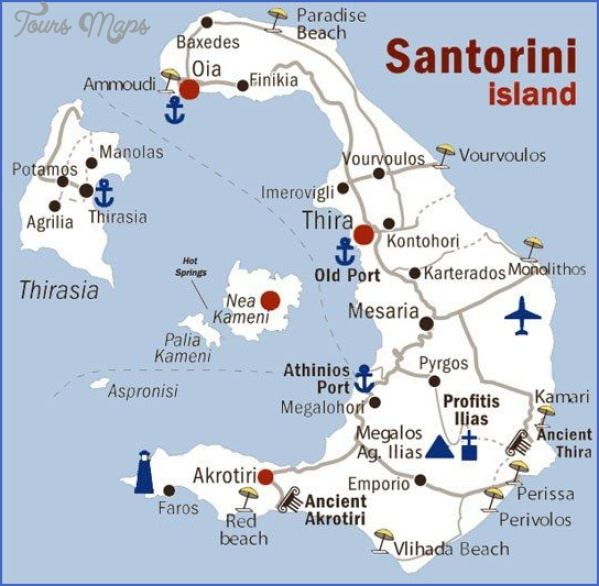 santorini map in world map 4 Santorini Map In World Map