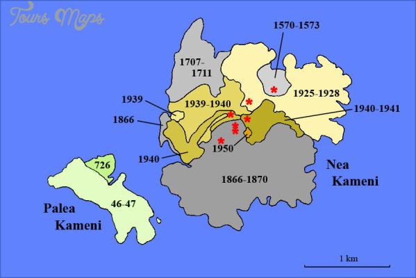 santorini map in world map 9 Santorini Map In World Map