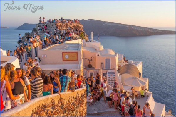 santorini map tourist attractions 14 Santorini Map Tourist Attractions