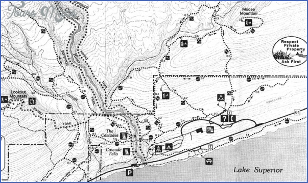 superior hiking trail map 12 Superior Hiking Trail Map