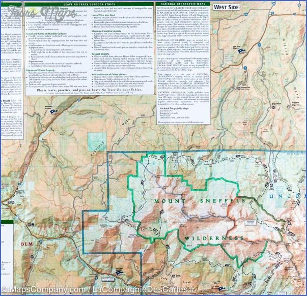 telluride hiking trail map 13 Telluride Hiking Trail Map