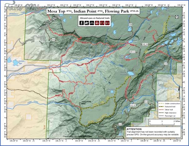 telluride hiking trail map 2 Telluride Hiking Trail Map