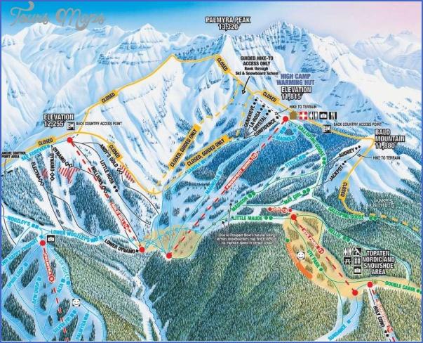 telluride hiking trail map 3 Telluride Hiking Trail Map