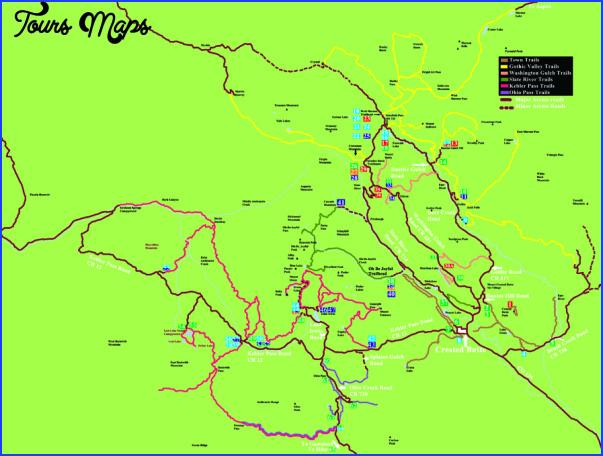 telluride hiking trail map 8 Telluride Hiking Trail Map