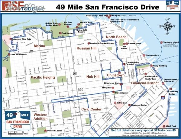 the presidio map san francisco 11 THE PRESIDIO MAP SAN FRANCISCO