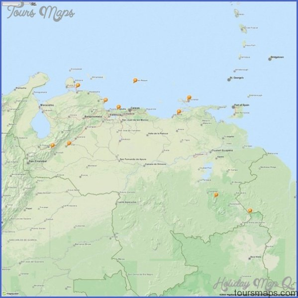 Venezuela Map Tourist Attractions_0.jpg