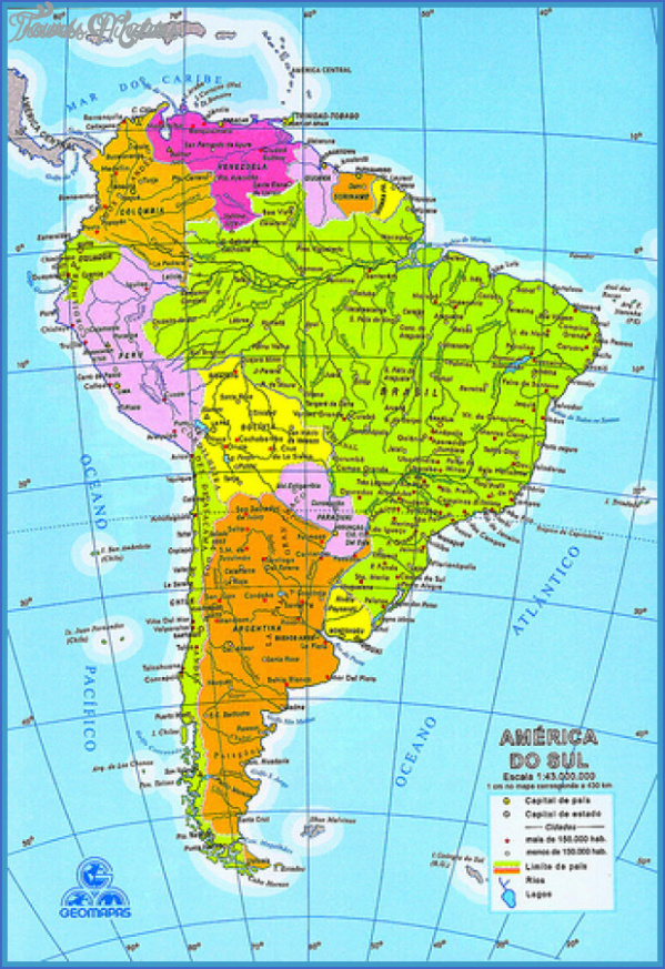 venezuela map tourist attractions 3 Venezuela Map Tourist Attractions