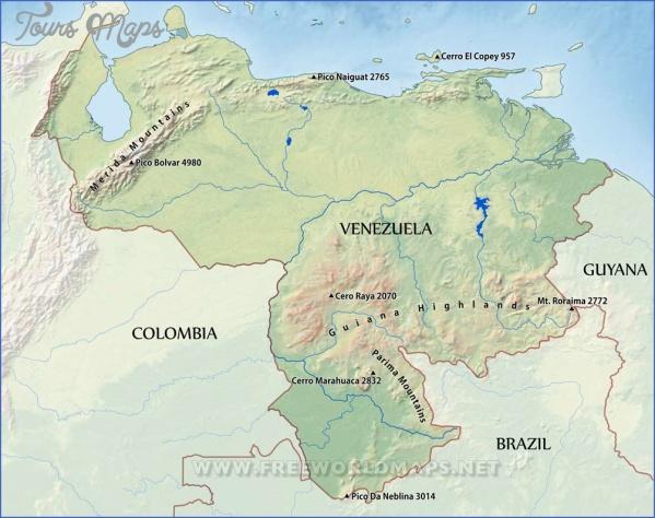 venezuela map 14 Venezuela Map