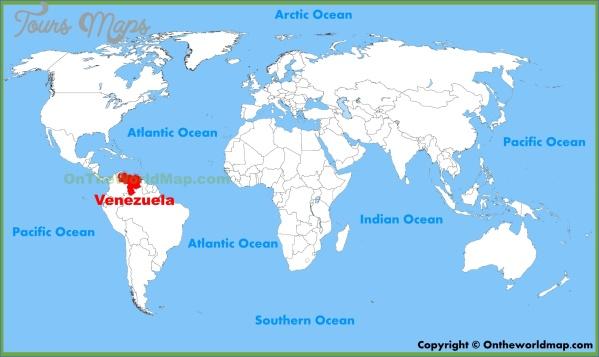 venezuela map 4 Venezuela Map