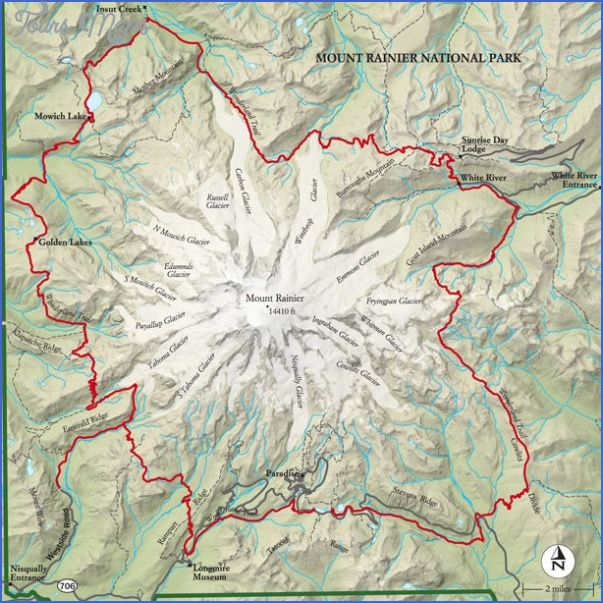 washington hiking trails map 12 Washington Hiking Trails Map