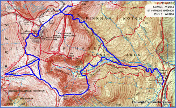 washington hiking trails map 5 Washington Hiking Trails Map