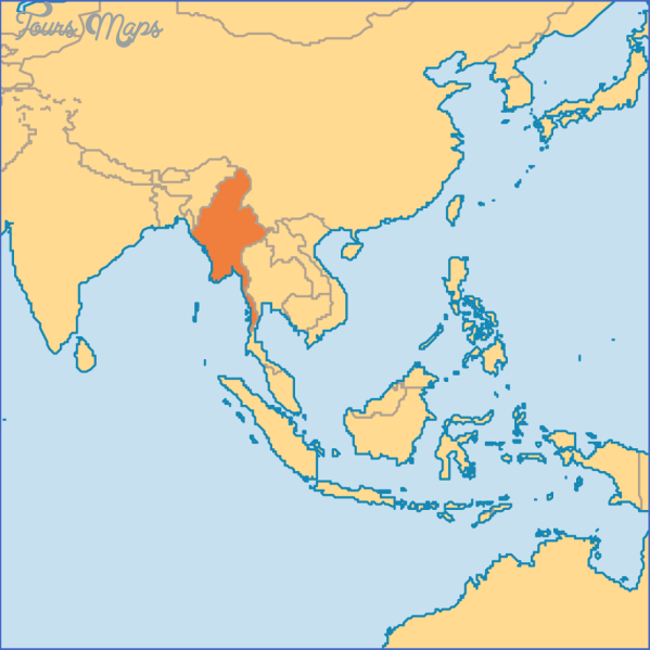 where is burma located on the world map 2 Where Is Burma Located On The World Map