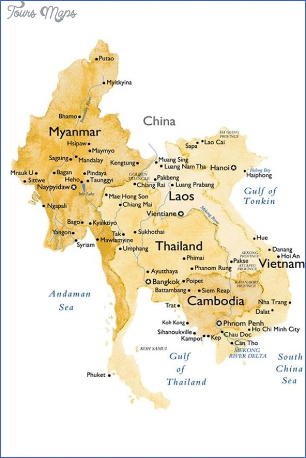 where is burma on the map 5 Where Is Burma On The Map