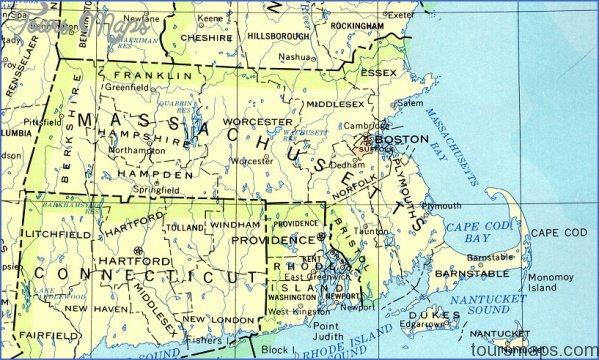 massachusetts map 0 Massachusetts Map