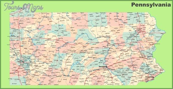 pennsylvania map 8 Pennsylvania Map