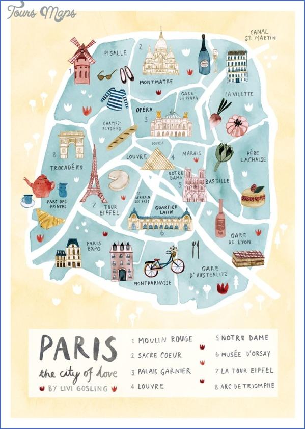 practical travel maps paris 5 PRACTICAL TRAVEL MapS PARIS