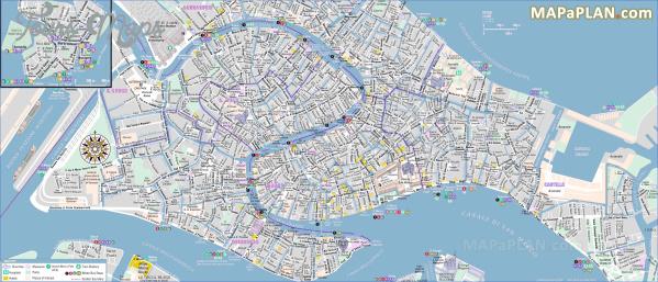 Intrepid image regarding printable map of venice