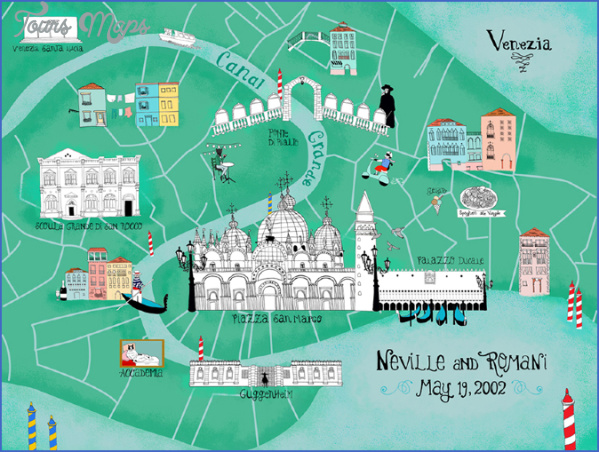practical travel maps venice 13 PRACTICAL TRAVEL MapS VENICE