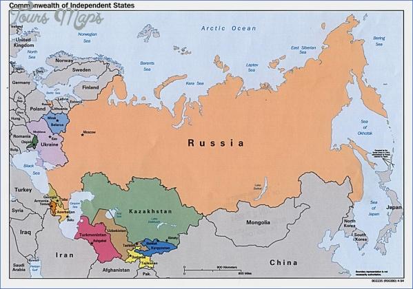 russia map 1 Russia Map