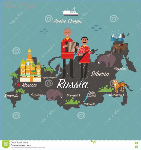 russia map 12 Russia Map