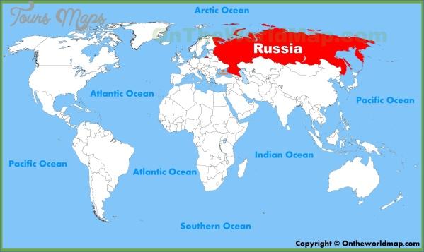 russia map 8 Russia Map