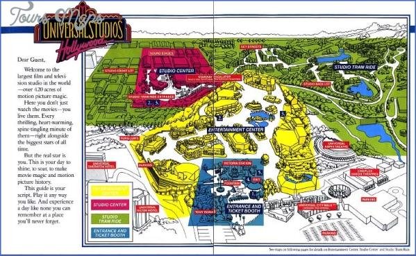universal hollywood studios map 12 Universal Hollywood Studios Map