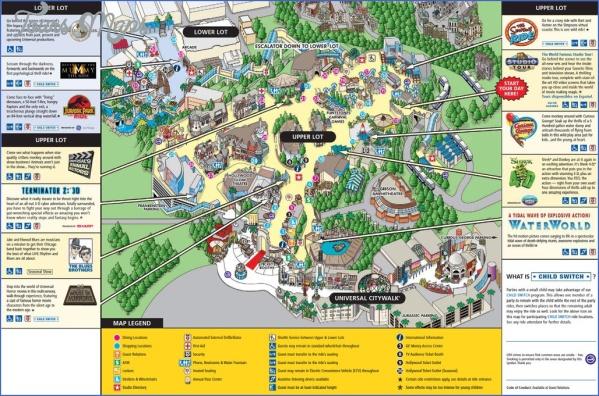 universal hollywood studios map 9 Universal Hollywood Studios Map
