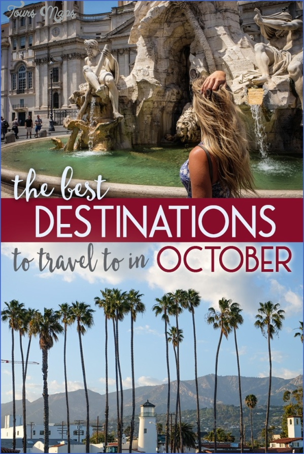Best travel destinations in october for Vacation destinations in october