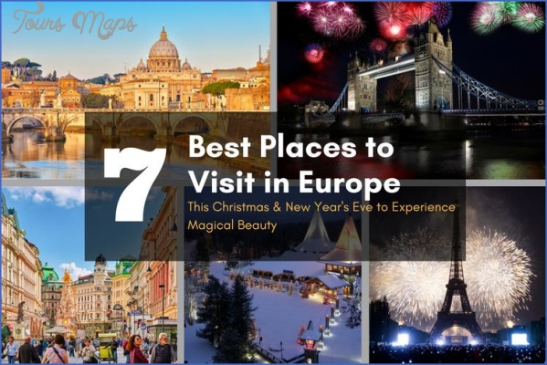 Best travel destinations between christmas and new year for Best places to visit for christmas