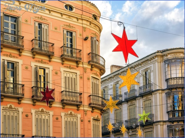 malaga christmas gettyimages 851566180 Best Travel Destinations Between Christmas And New Year