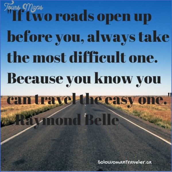 the roads will open up for you travel 0 THE ROADS WILL OPEN UP FOR YOU TRAVEL