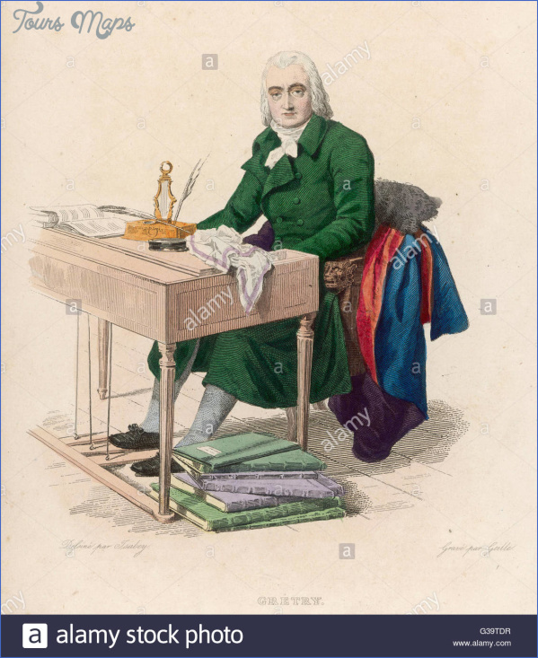 andre ernest modeste gretry french composer at his desk date 1741 g39tdr GRETRY MUSEUM