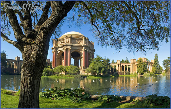 california san francisco palace of fine arts BEST MUSEUMS IN SAN FRANCISCO