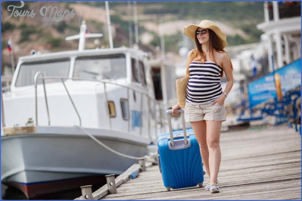 cruising pregnant 2 Best Travel Destinations While Pregnant