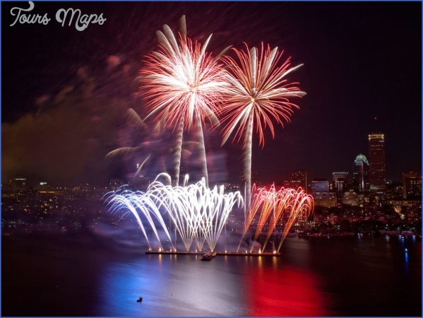 fireworks boston gettyimages 159082226 Best 4Th Of July Travel Destinations