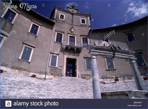 italy lazio palestrina palazzo barberini prenestino archaeological b8g4w9 PALESTRINA MUSEUM