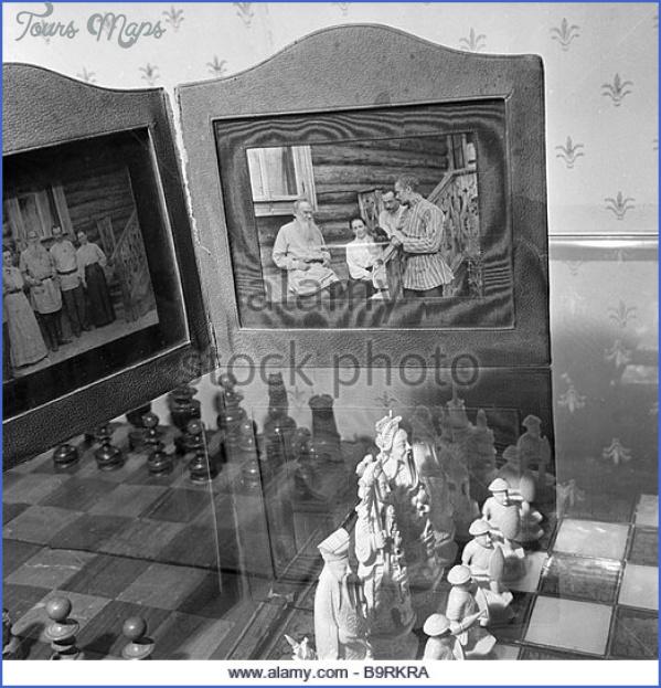 leo tolstoy often played chess with alexander goldenweiser his friend b9rkra GOLDENWEISER MUSEUM