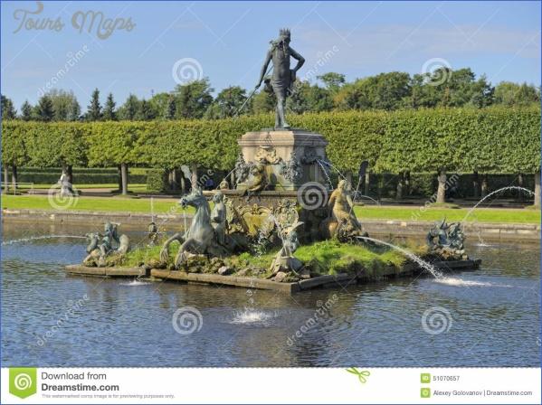 peterhof fountain russia august neptun upper garden museum estate landmark 51070657 GOLOVANOV MUSEUM