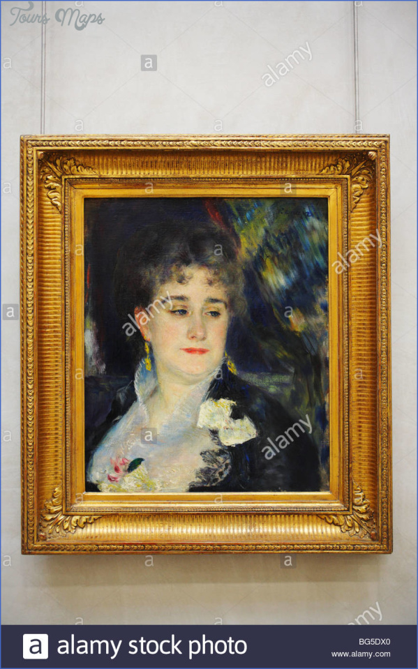 portrait of madame georges charpentier by pierre auguste renoir dorsay bg5dx0 CHARPENTIER MUSEUM