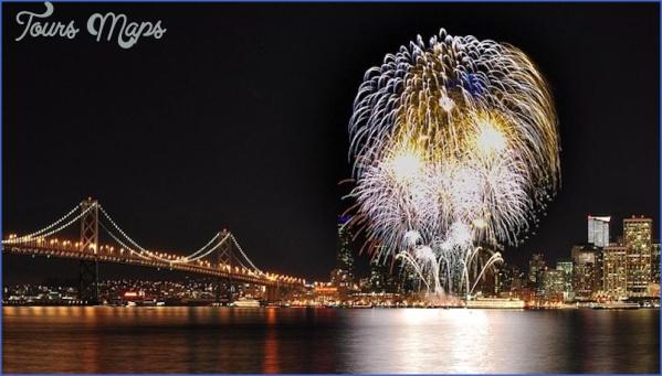 san francisco fireworks 800x454 Best 4Th Of July Travel Destinations