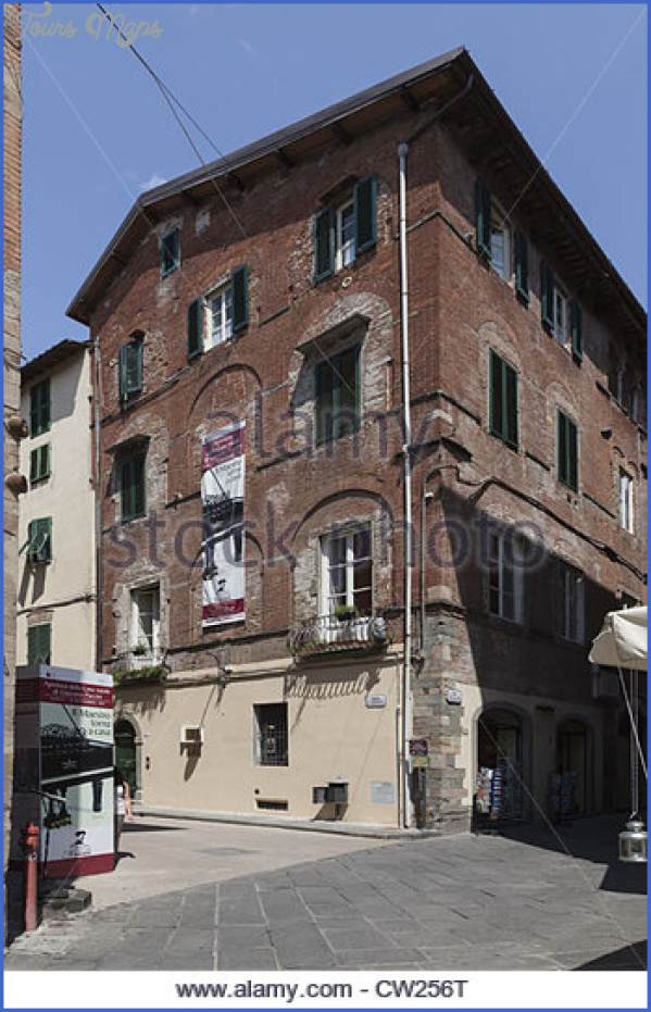 the puccini museum lucca tuscany italy cw256t PUCCINI MUSEUM
