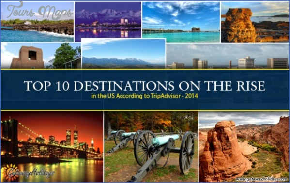 10 best travel destinations in the united states for Top 10 vacation spots in the us