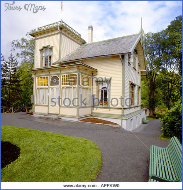troldhaugen edward griegs house in norway affkw0 Troldhaugen Museum