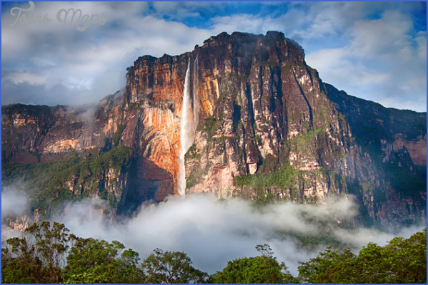 venezuela angel falls morning view Top Travel Destinations Venezuela