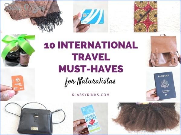 10 must haves for an international trip 13 10 Must Haves for an International Trip