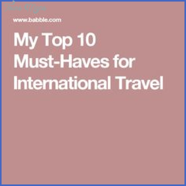 10 must haves for an international trip 9 10 Must Haves for an International Trip