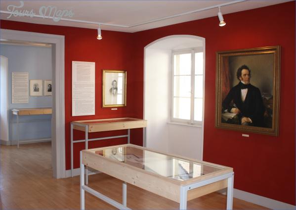 ausstellungsraum im franz schubert museum c schubertiade gmbh originale SCHUBERT MUSEUM